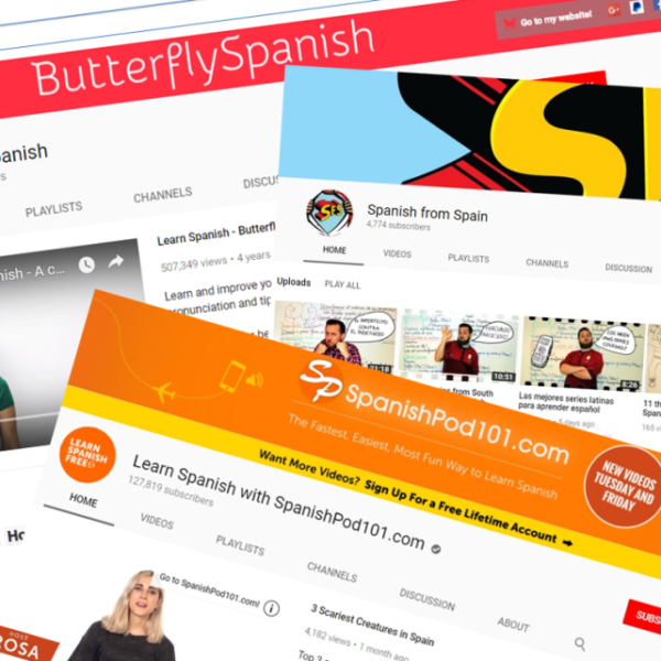 3 best YouTube Channels to learn Spanish
